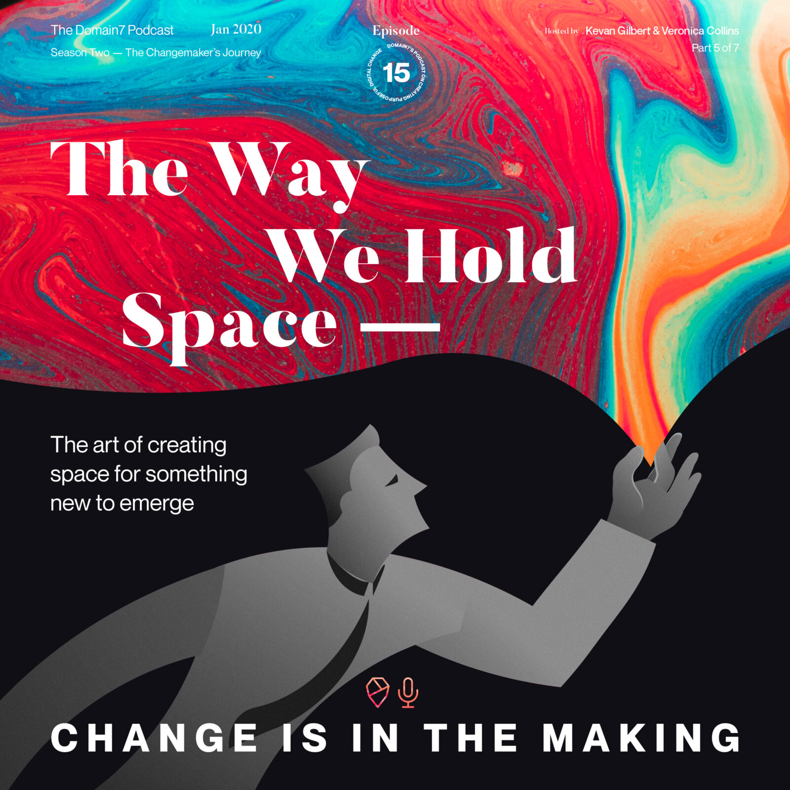 Episode 15: The Way We Hold Space - the Art of Creating Space for Something New to Emerge