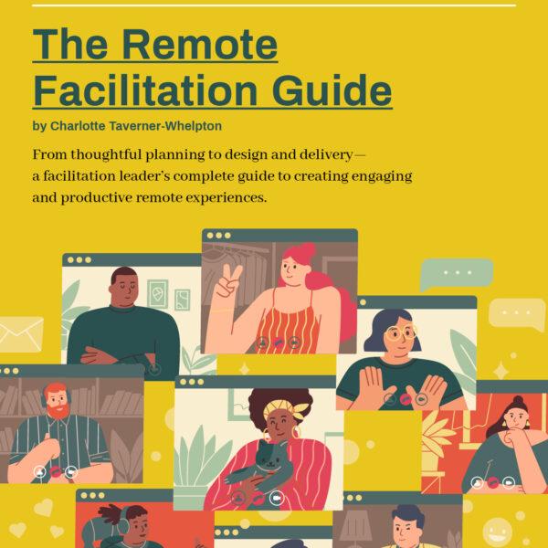 The Remote Facilitation Guide cover art