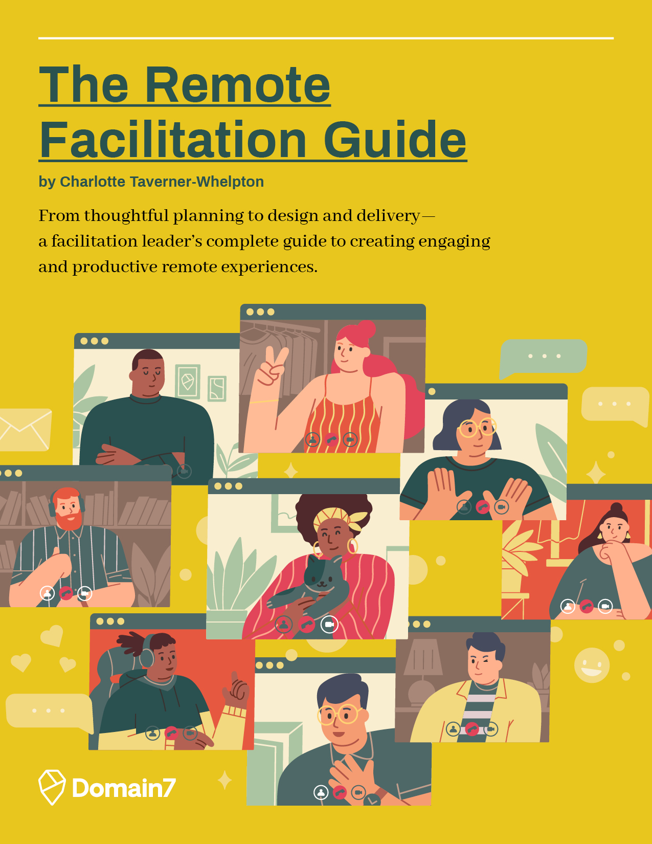 The Remote Facilitation Guide cover art
