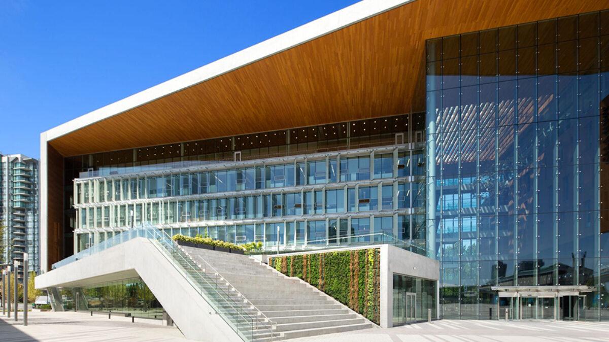 A photo of Surrey's City Hall