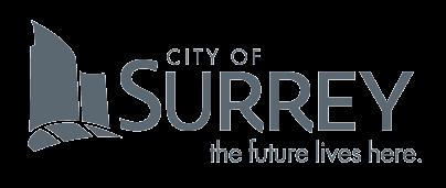 Grey City of Surrey logo